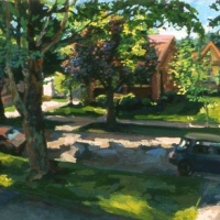 Across Cherry Street Elkins 2002