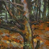 Venetian Acrobat, acrylic on canvas 60x30  2010