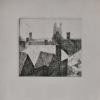 New Haven etching 4x4, 1983